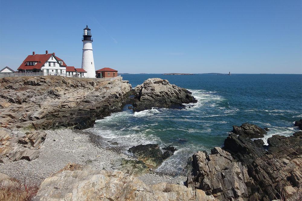 Maine, na região da Nova Inglaterra, nos Estados Unidos (EUA)