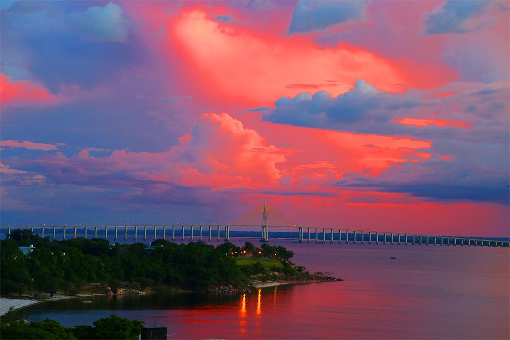 Ponte Phelippe Daou, em Manaus