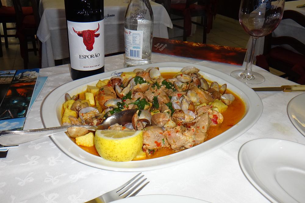 Gastronomia no Alentejo
