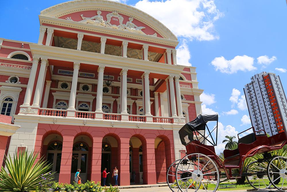 Teatro Amazonas não terá visitação turística