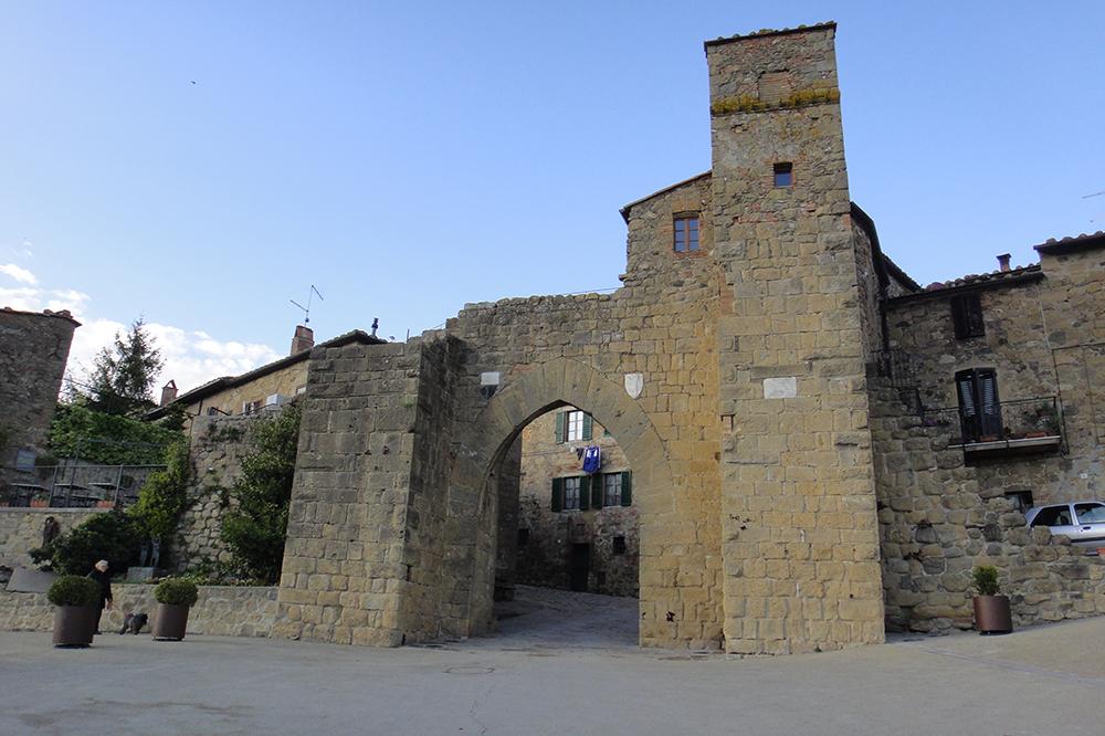 Montechielo, pequena cidade próxima de Pienza.