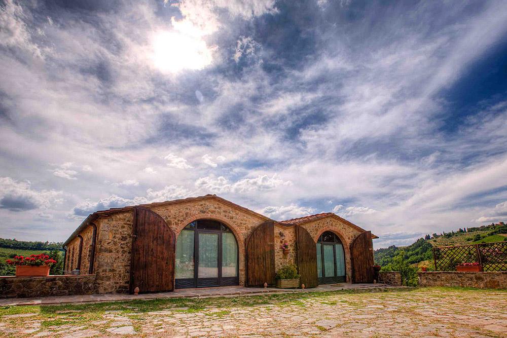 Podere Felceto tem a proposta de oferecer uma casa na toscana. Foto: Divulgação