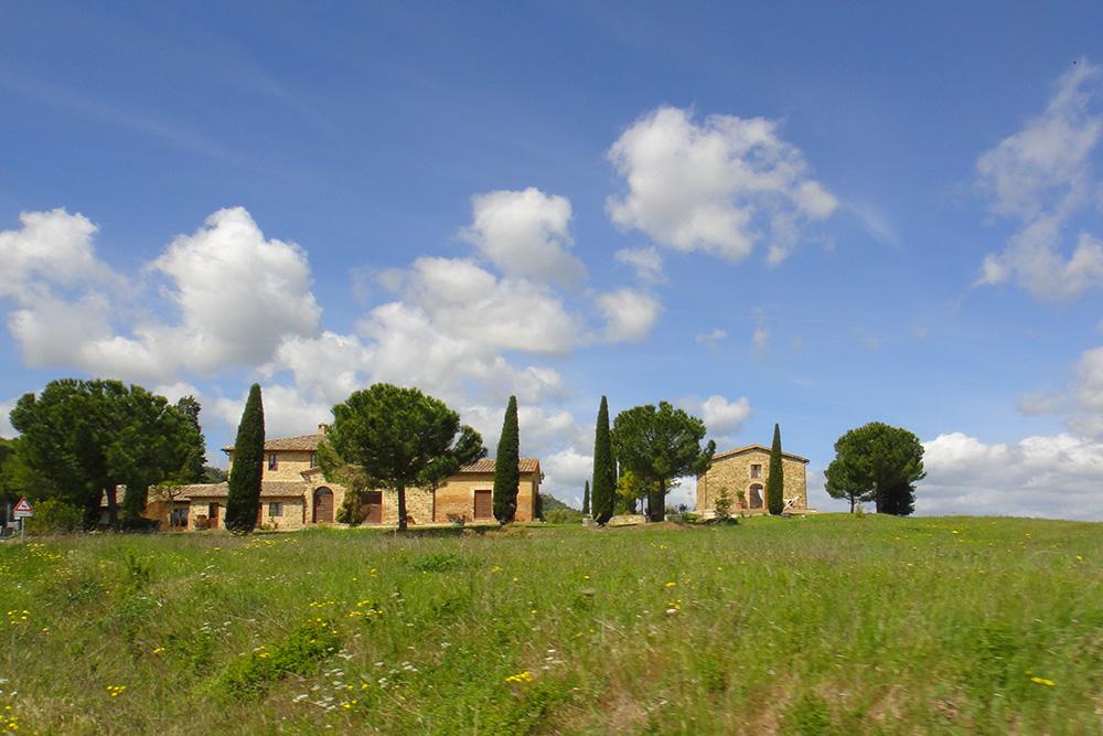A Toscana é a área rural da Itália, só que com muito charme.