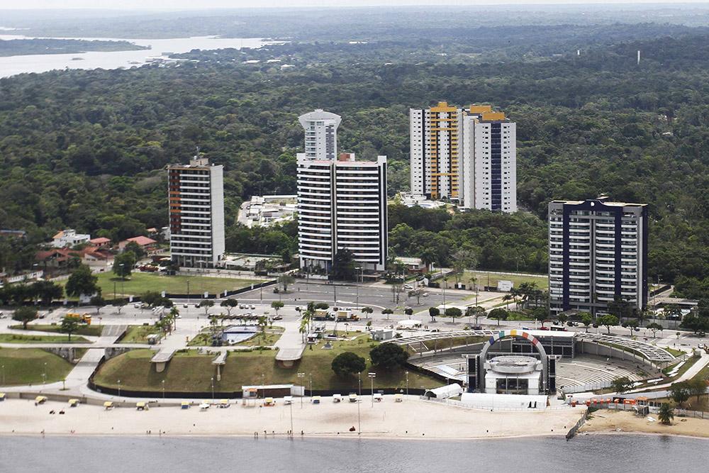 Complexo Turístico Ponta Negra, em Manaus