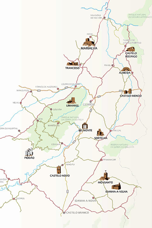 aldeias históricas de portugal mapa Amazonas e Mais | mapa aldeias historicas portugal   Amazonas e Mais aldeias históricas de portugal mapa