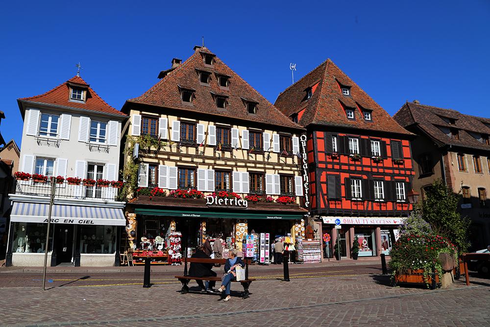 Obernai, na Alsácia