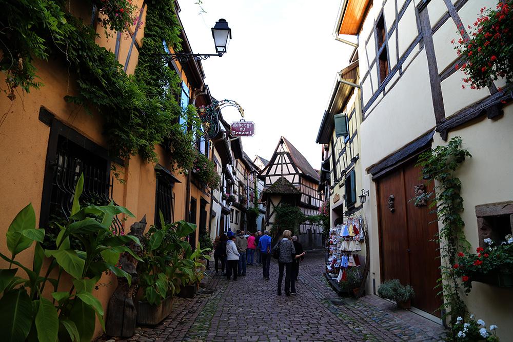 Eguisheim, uma das vilas mais antigas da Alsácia