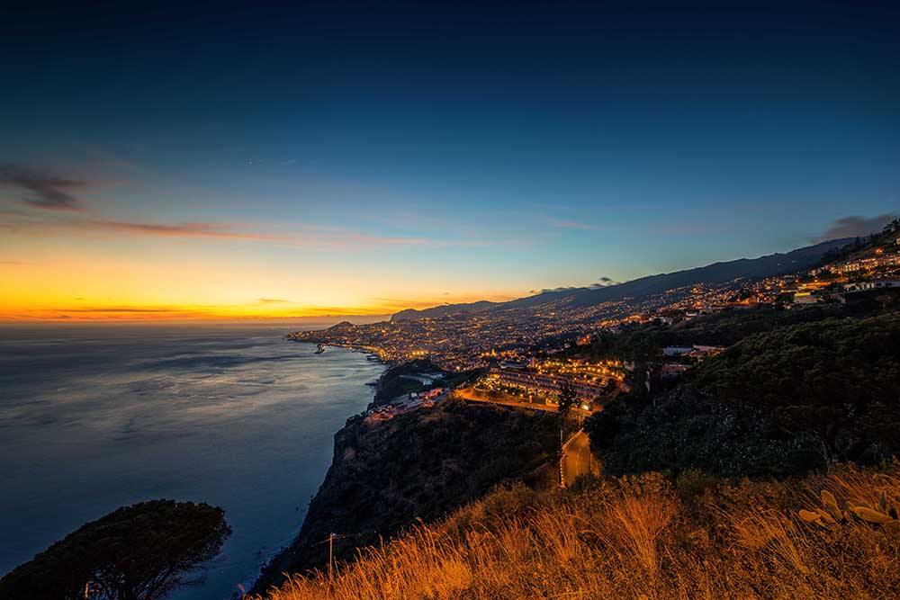 Funchal_sunset