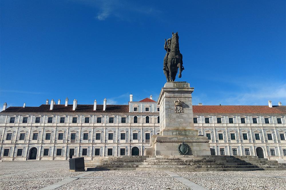 Paço Ducal de Vila Viçosa, no Alentejo