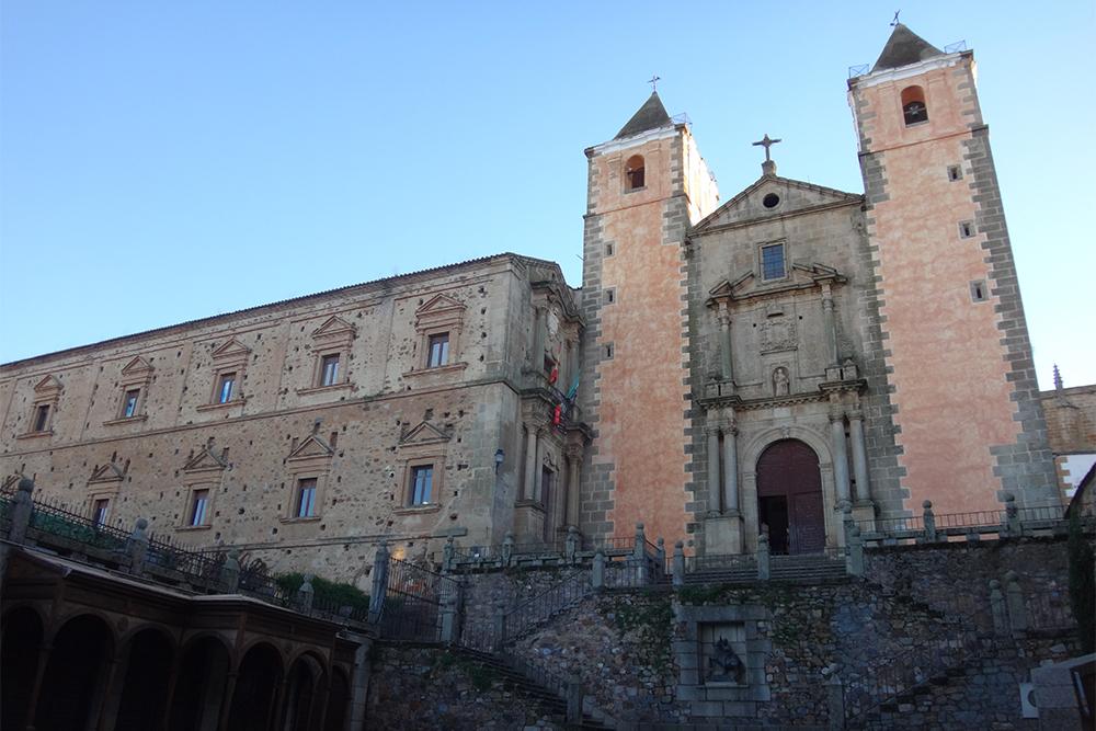 Cáceres, na Extremadura: Igreja de San Francisco