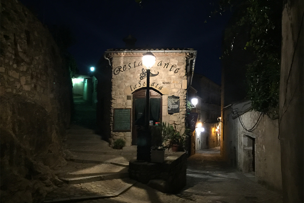 A bela cidade histórica de Trujillo, na Extremadura