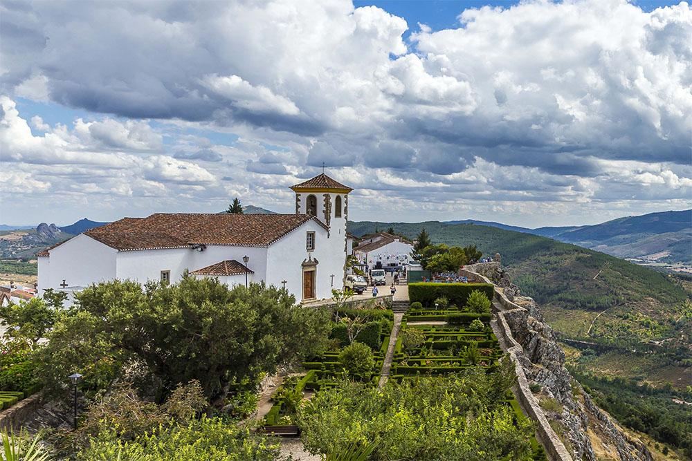 Marvão, aldeia histórica do Alentejo.