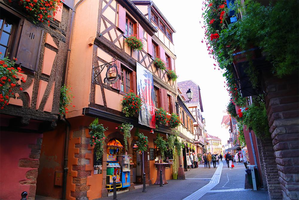 Ribeauvillé, na Alsácia