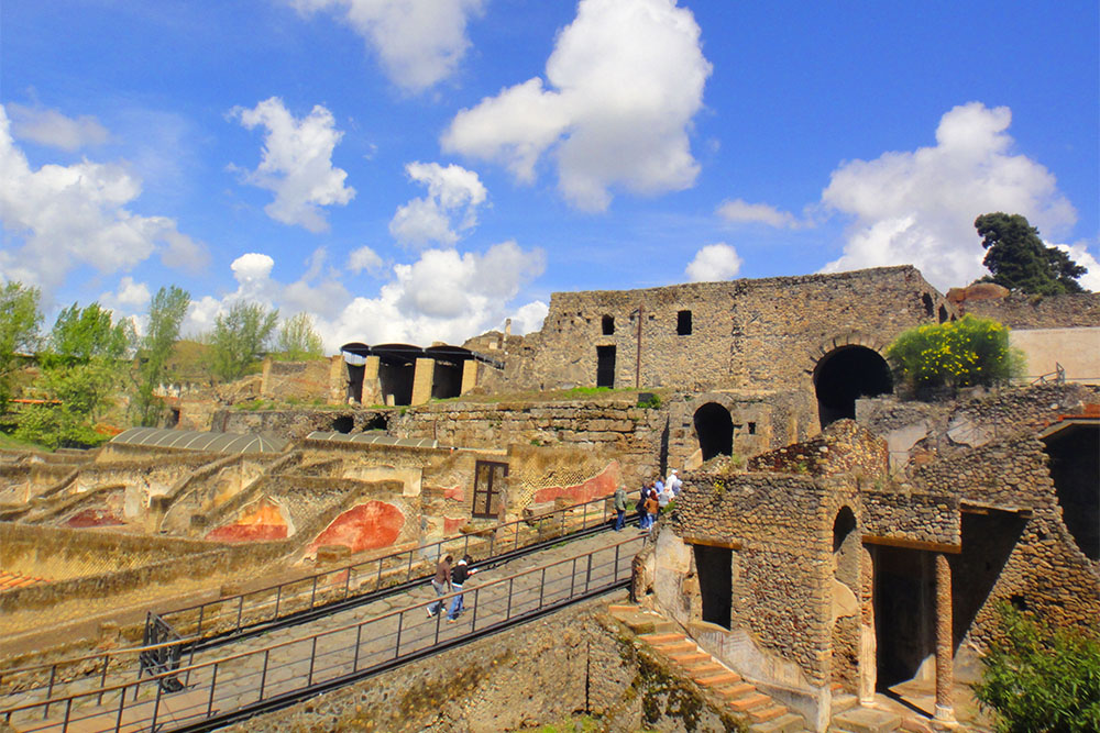 Pompeia, o maior sítio arqueológico da Europa