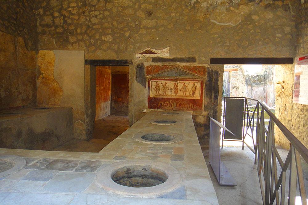 Pompeia, cidade soterrada pelo Vesúvio na Itália