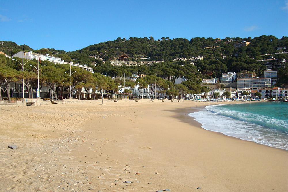 Llafranc, outra bela cidadezinha da Costa Brava.