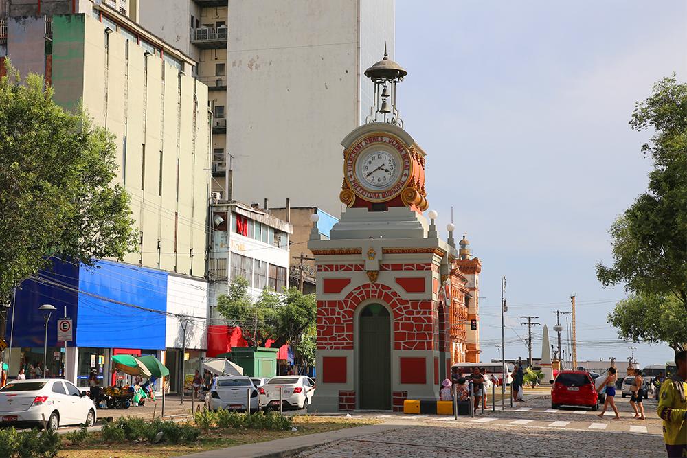 Relógio Municipal, centro antigo de Manaus