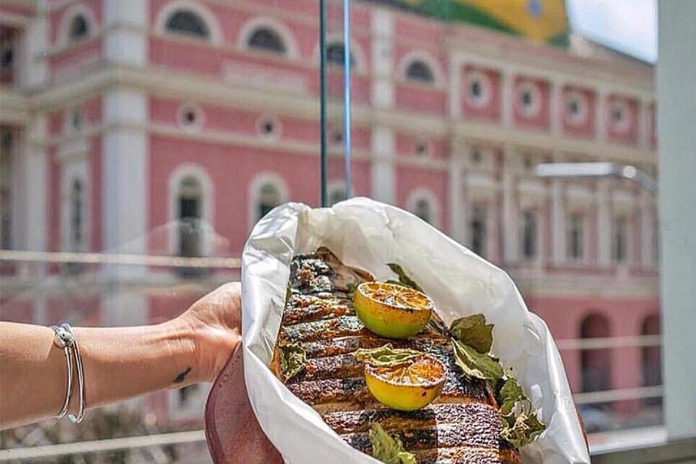 Restaurantes próximos do Teatro Amazonas: Caxiri