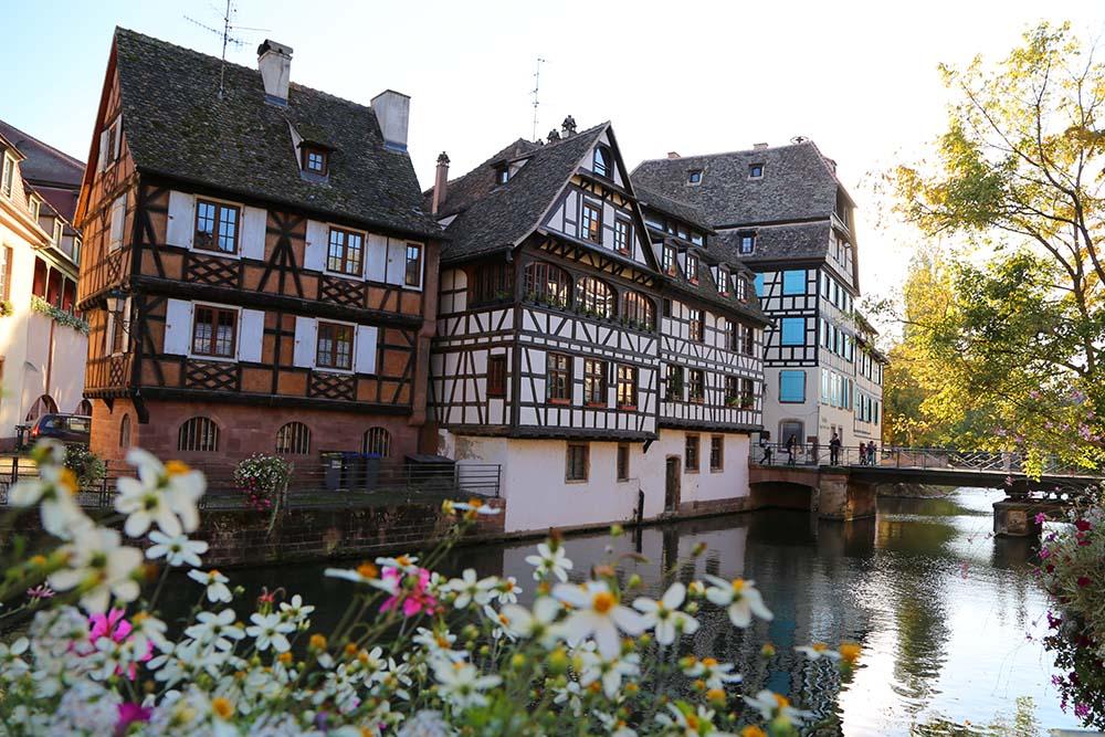 A beleza da arquitetura de Estrasburgo
