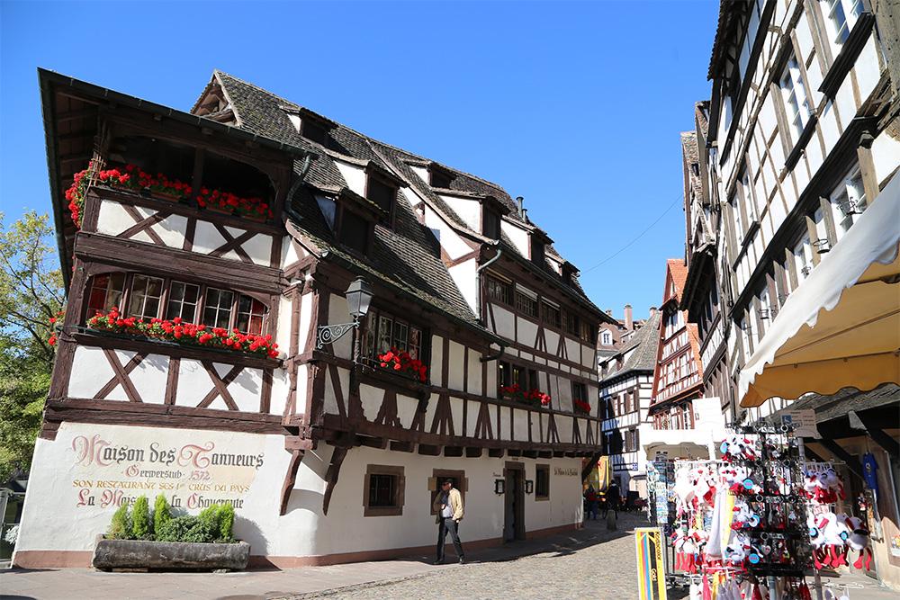 O charmoso Petite France, em Estrasburgo