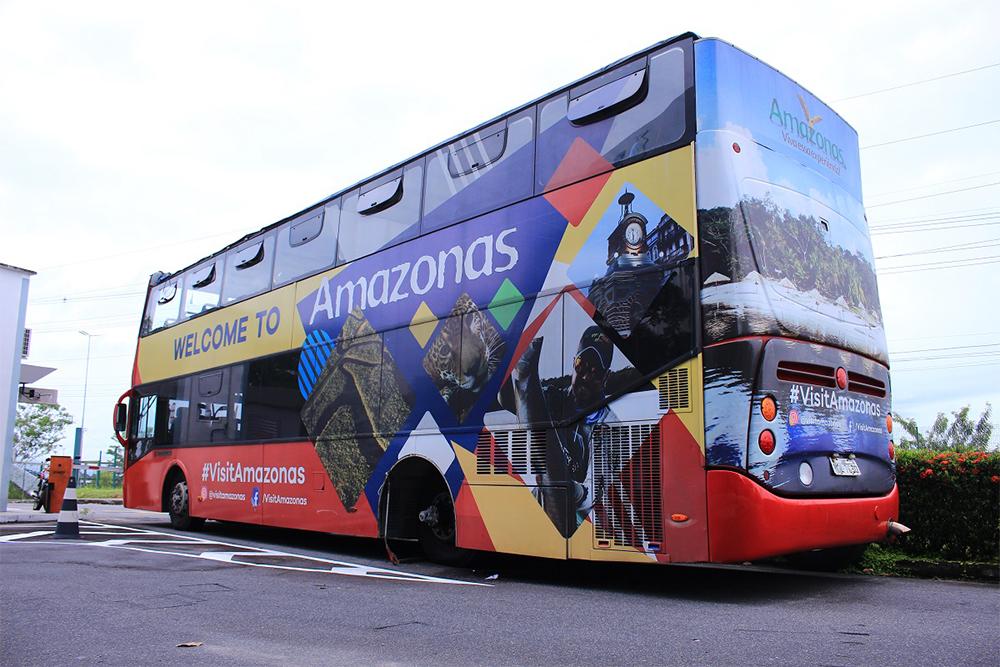 Amazonbus, ônibus de turismo em Manaus
