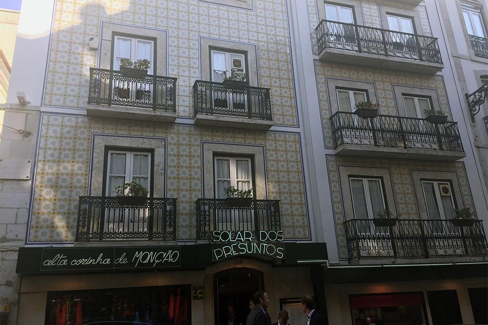Solar dos Presuntos, restaurante tradicional de Lisboa