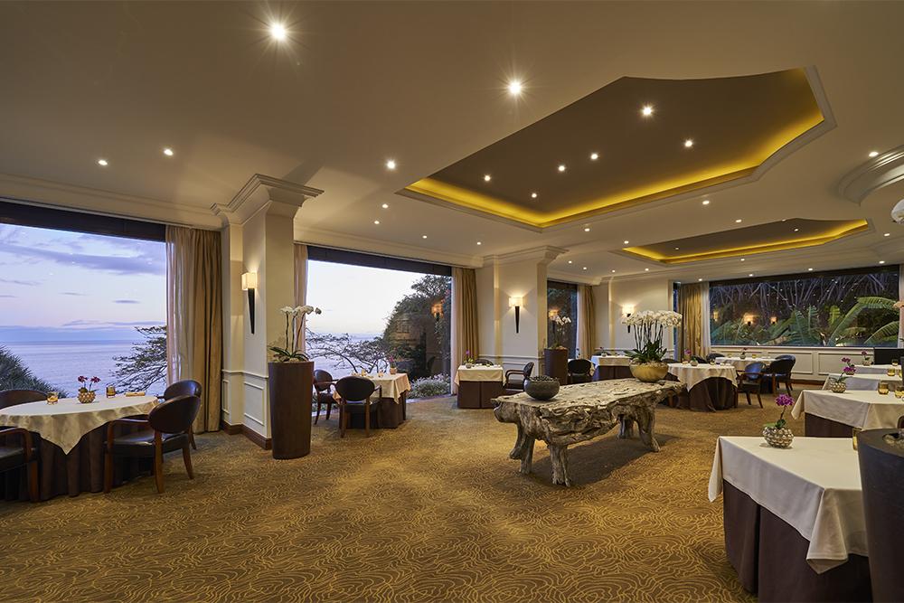 O restaurante Il Gallo d'Oro, na Ilha da Madeira