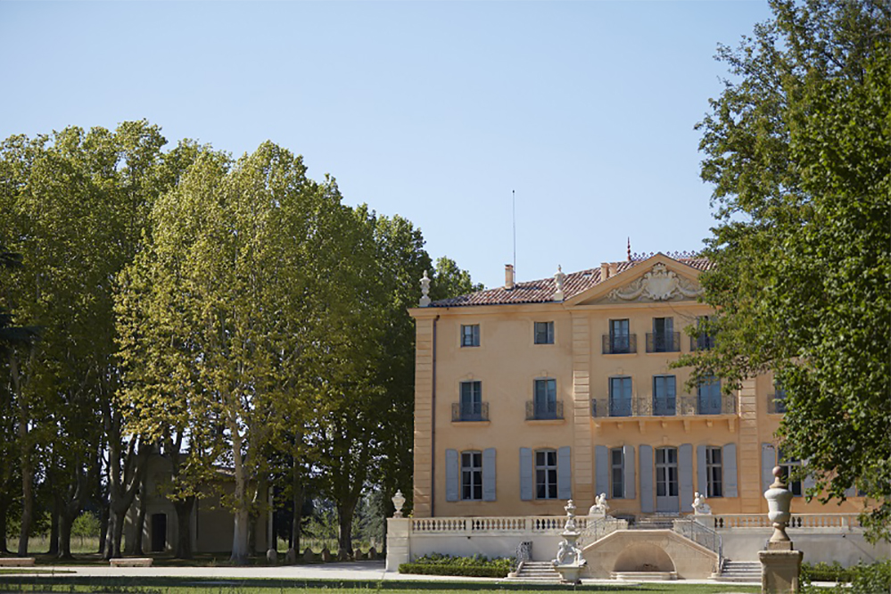 O Château de Fonscolombe, na Provence