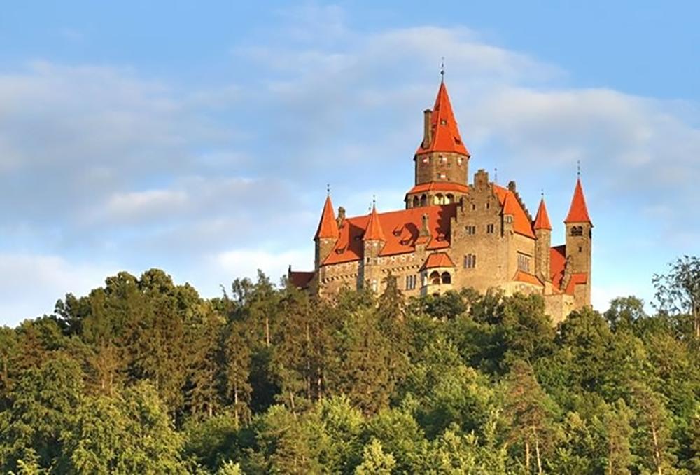 Castelo de Bouzov, na República Tcheca. Foto: Divulgação