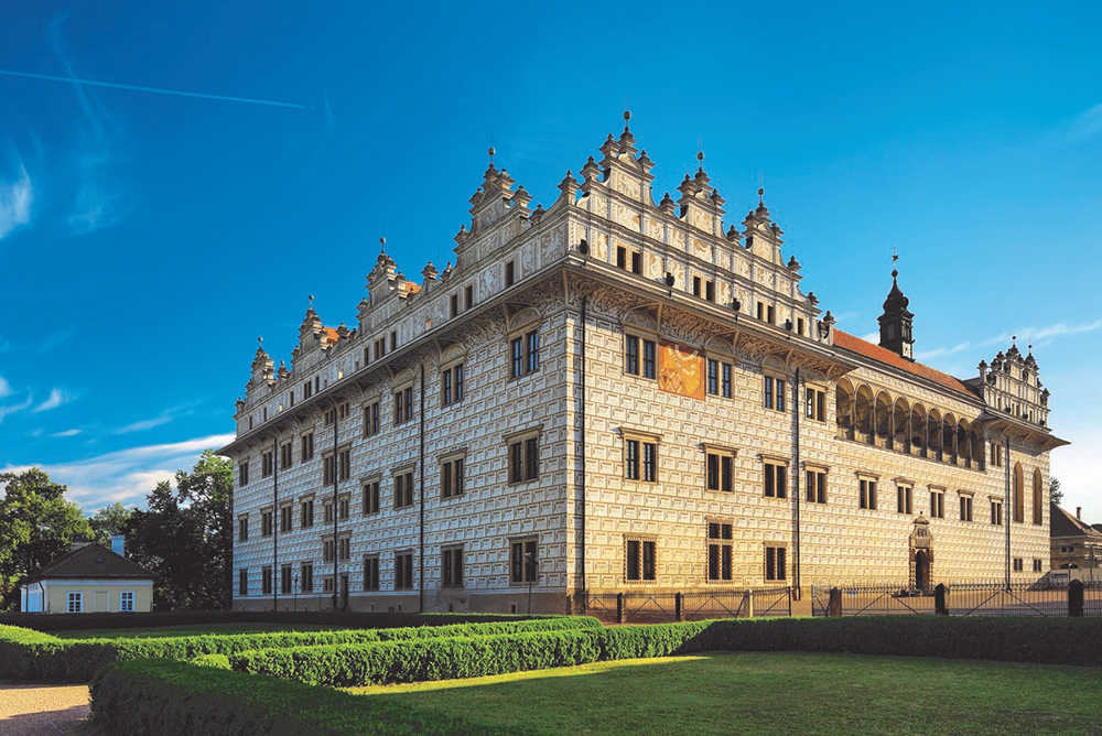 Palácio de Litomyšl, na República Tcheca. Foto: Divulgação