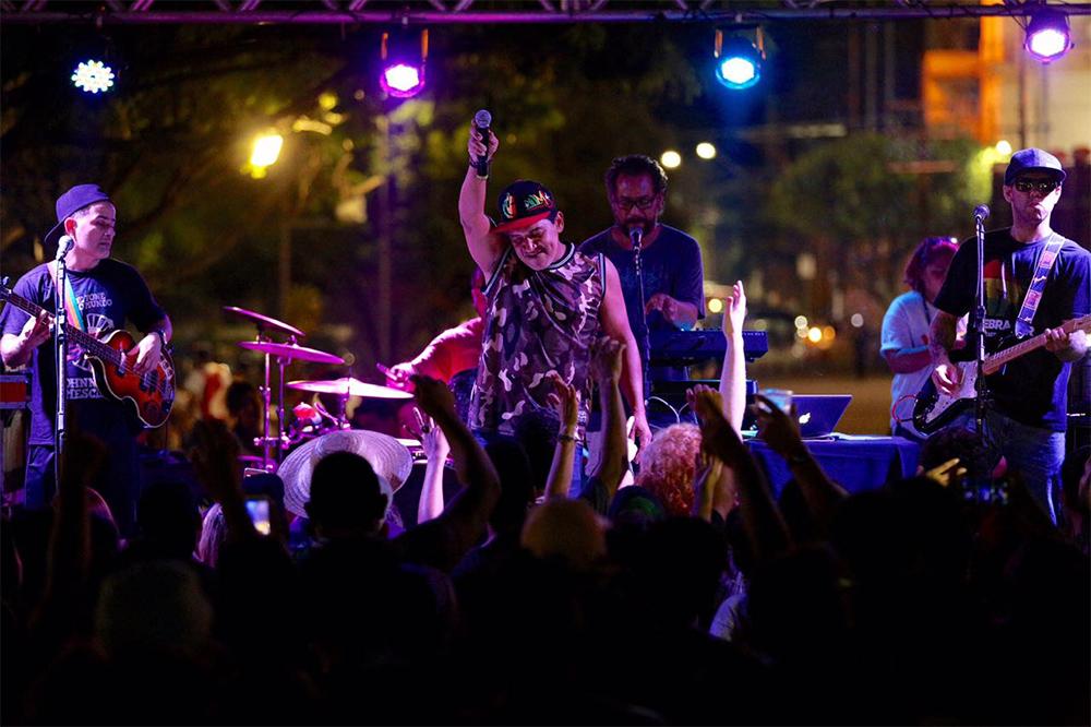Cileno no Dia Nacional do Reggae
