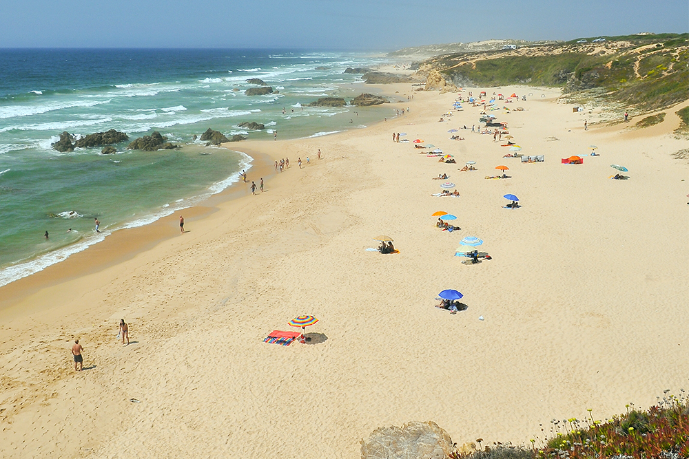 Praia do Malhão, no Alentejo
