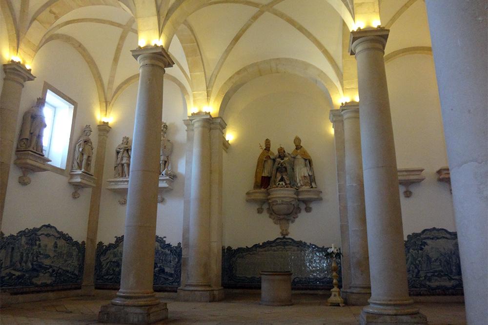 Sala dos Reis no Mosteiro de Alcobaça