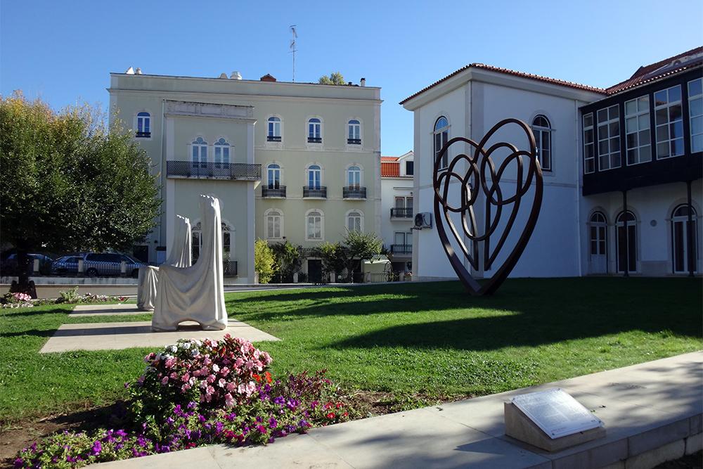 Jardim do Amor em Alcobaça