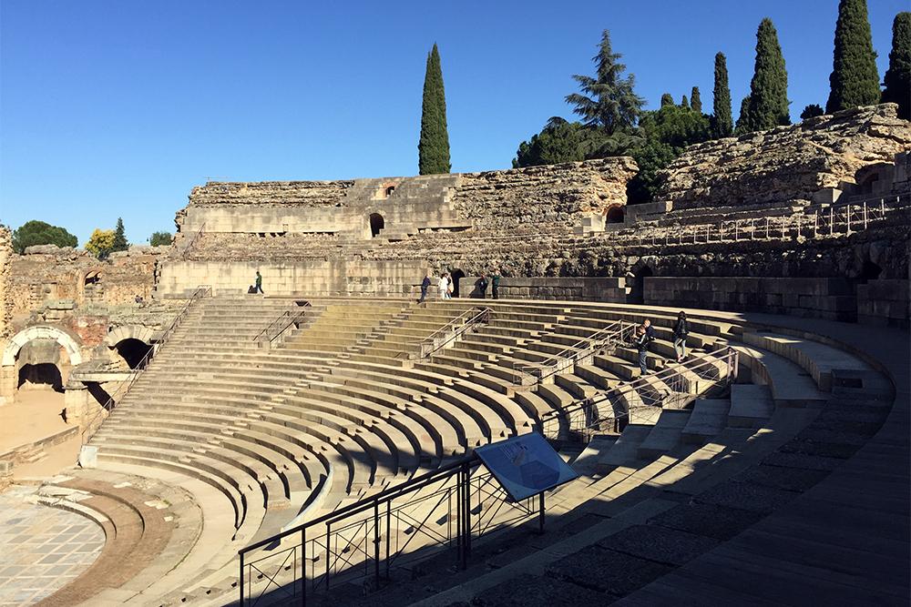 Teatro Romano em Mérida