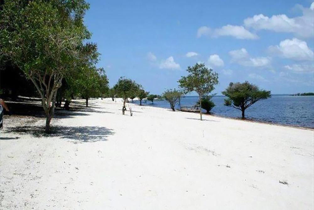 Praia do Uaicurapá em Parintins