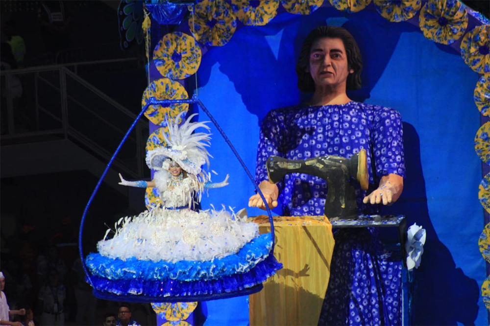 Caprichoso, no Festival de Parintins 2019