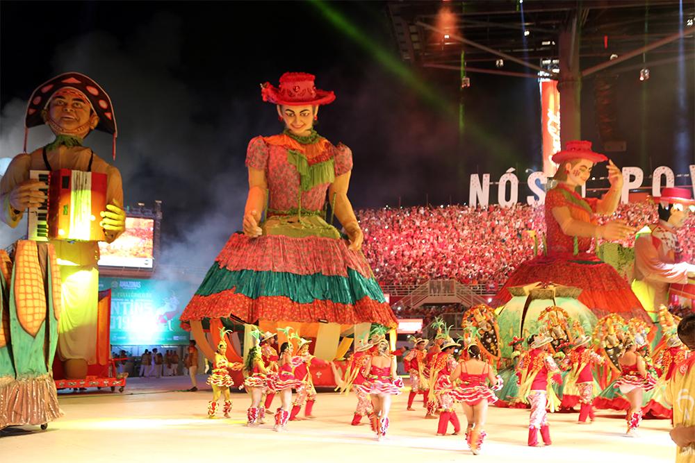 Garantido, festival de Parintins 2019