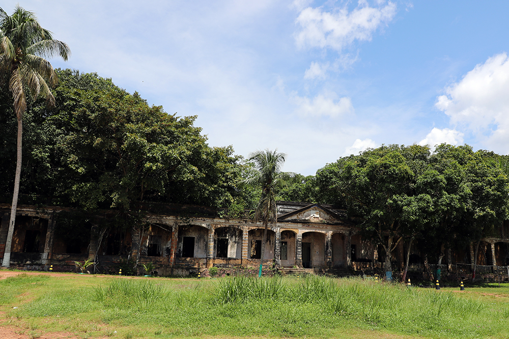 Vila de Paricatuba no Amazonas