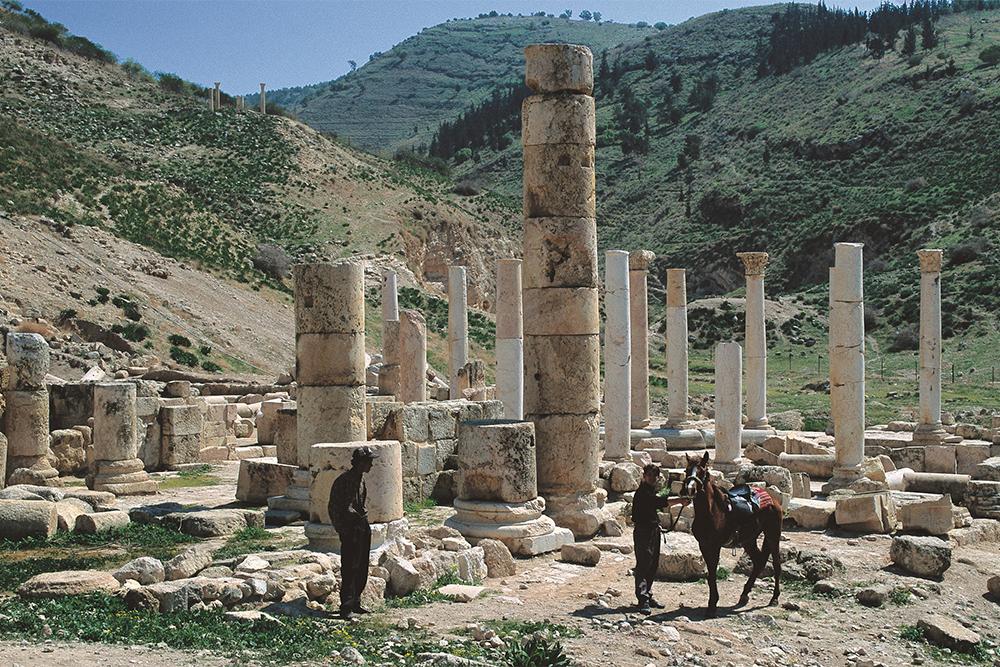 Pella, na Jordânia