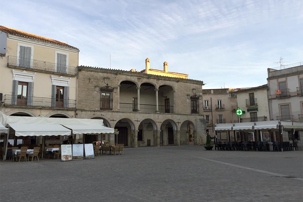 Trujillo, na Extremadura espanhola