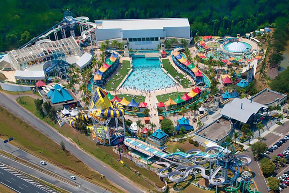 Wet'n Wild: Parques de diversão e aquáticos do Brasil