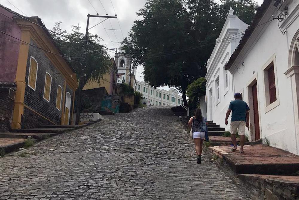 Ladeira da Misericórdia, em Olinda