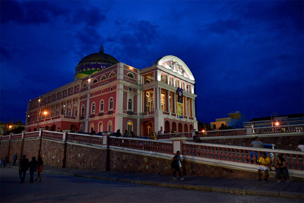 Teatro Amazonas: horários em outubro