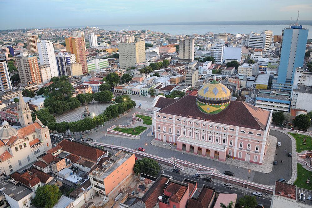 Teatro Amazonas, centro antigo de Manaus