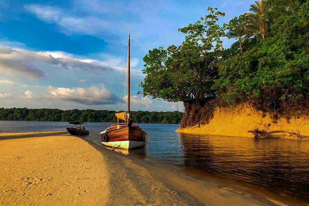 Praias de Novo Airão