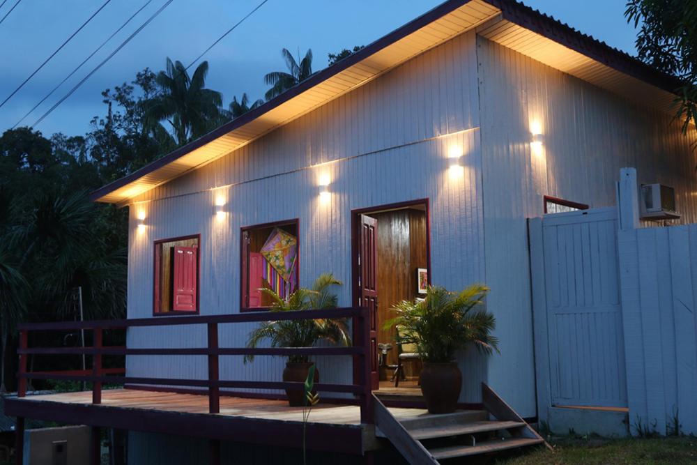 Casa Madadá, em Novo Airão