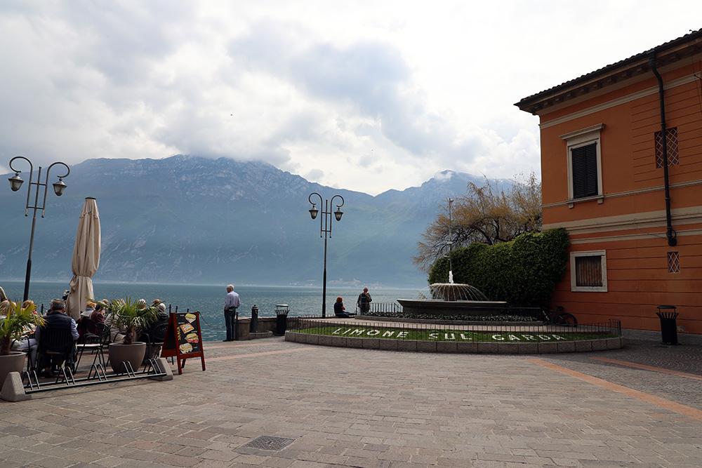 Limone Sul Garda, no Lago di Garda