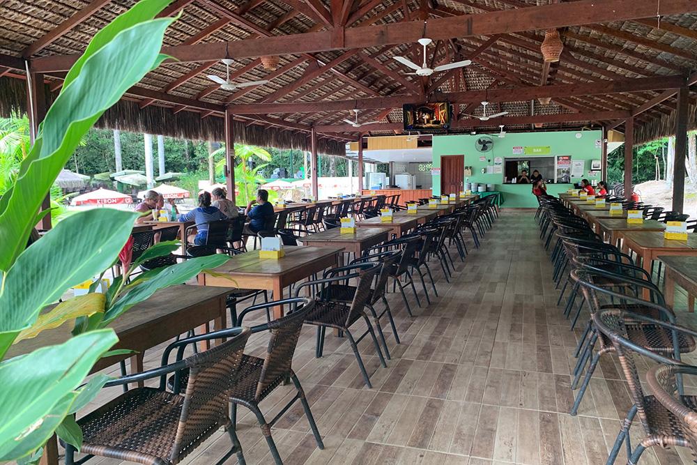 Paraíso 21, balneário pertinho de Manaus