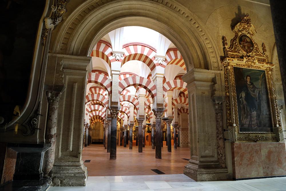 Mesquita-Catedral de Córdoba, na Andaluzia, Espanha